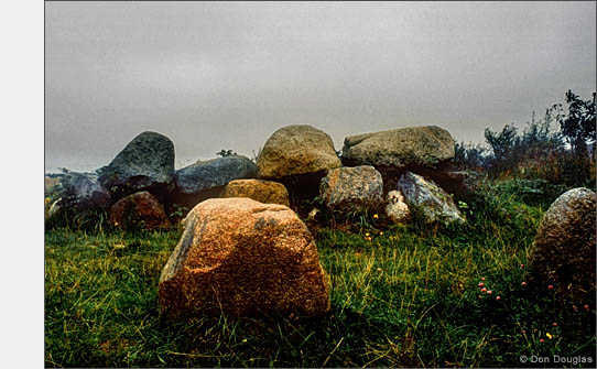 Stone Age burial mound on the Jasmund Peninsula